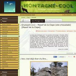 Détail topo : Massif de la Clape (site d'escalade) [Massif de la