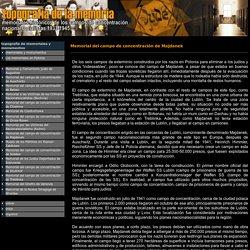 topografía del terror: memoriales históricos, 1933-1945