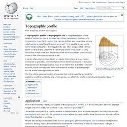 Topographic profile - Wikipedia