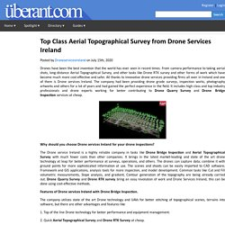 Top Class Aerial Topographical Survey from Drone Services Ireland