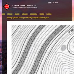 Topo Surveys by Empire State Layout in NYC