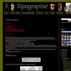 Cours de topographie I