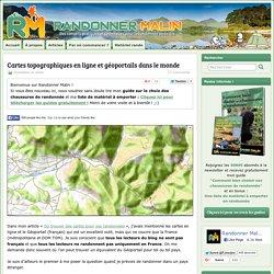 Cartes topographiques en ligne et géoportails dans le monde