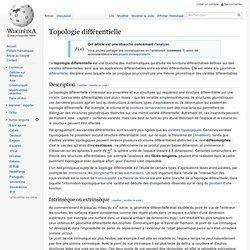 Topologie différentielle