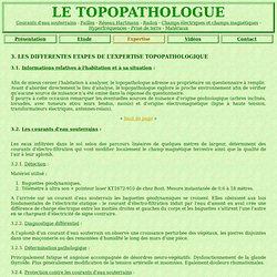Le topopathologue : Les diff rentes tapes de l'expertise topopathologique