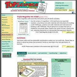 Triple Magnifier Kit #100