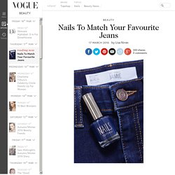 Topshop Denim Nails To Match Your Jeans