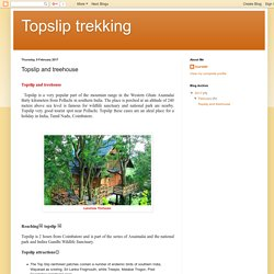 Topslip trekking: Topslip and treehouse