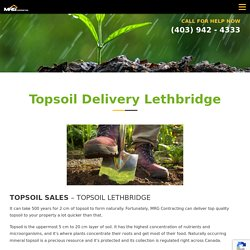 Topsoil Delivery - Topsoil for Sale