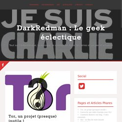 Tor, un projet (presque) inutile !