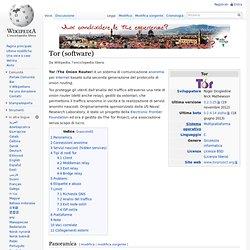 Tor (software)