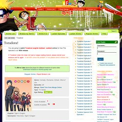 Watch Toradora! Online