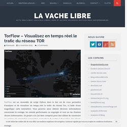 TorFlow – Visualisez en temps réel le trafic du réseau TOR