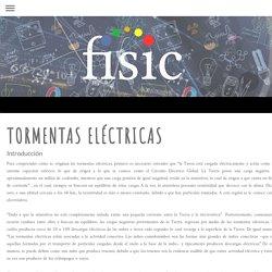 tormentas eléctricas - Física de nivel básico, nada complejo..