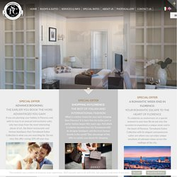 Home-eng - Tornabuoni Suites Collection