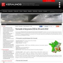 Tornade à Seysses en Haute-Garonne (31) - 29 avril 2012 - tornade France