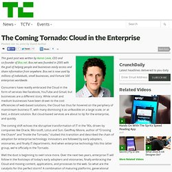 Cloud in Enterprise :the coming tornado