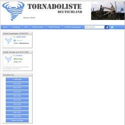 Tornadoliste Deutschland