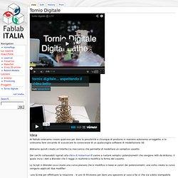 Tornio Digitale — FabLabItalia
