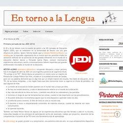 En torno a la Lengua: Primera jornada de las JEDI 2016