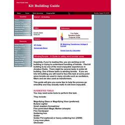 Toroidal Winding guide