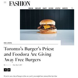 The 11 Best Places to Grab a Burger in Toronto - FASHION Magazine
