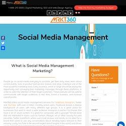 Toronto's Best Social Media Marketing Management Agency