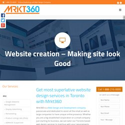 Find Web Design Company Toronto