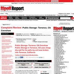 Public Storage- Torrance, CA Crenshaw