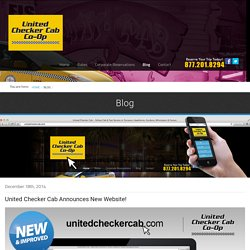 United Checker Cab Announces New Website!