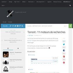 Torrent : 11 moteurs de recherches - NetOver