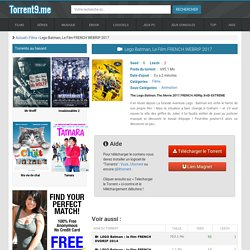 Torrent LegoBatman,LeFilmFRENCHWEBRIP2017 - Torrent9.biz