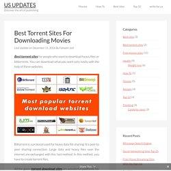 Top 40 best torrent sites for download torrents