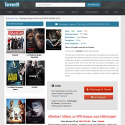 Torrent PentagonPapers(ThePost)VOSTFRDVDSCR2018 - Torrent9.red
