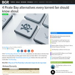Best torrent sites: Pirate Bay alternatives