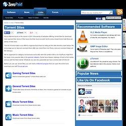 Torrent Sites Directory