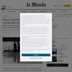 Dans le Gard, fin des pluies torrentielles et reprise des recherches pour une disparue