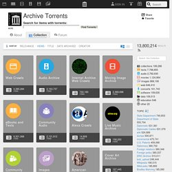 Archive Torrents : Free Audio : Download & Streaming