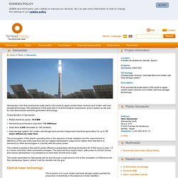 Torresol Energy - Gemasolar thermosolar plant