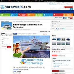 RESEGUIDE - TORREVIEJA.com ...en hel stad inom några få klick! - Båttur längs kusten utanför Torrevieja
