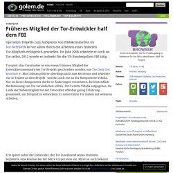 Torsploit: Früheres Mitglied der Tor-Entwickler half dem FBI
