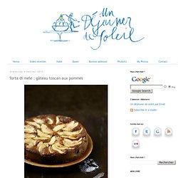 Torta di mele : gâteau toscan aux pommes