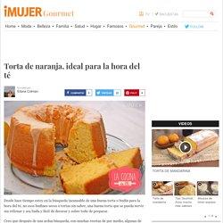 Torta de naranja, ideal para la hora del té