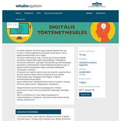 Digitális történetmesélés az oktatásban (intenzív)