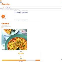 Tortilla (Espagne) - Recette de cuisine Marmiton : une recette