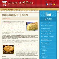 Recette de la tortilla espagnole - Omelette espagnole