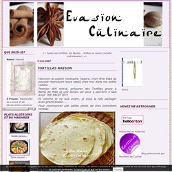 Tortillas Maison - Evasion Culinaire avec Naouel