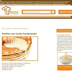 Tortitas con Leche Condensada Receta