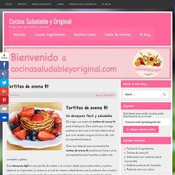 Tortitas de avena fit - Cocina Saludable y Original