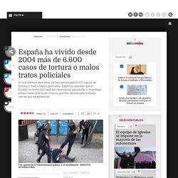 España ha vivido desde 2004 más de 6.600 casos de tortura o malos tratos policiales